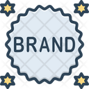 Brand Label Sticker Icon