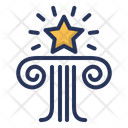 Brand Star Column Icon