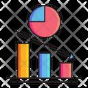 Brand Crisis Bar Chart Crisis Icon