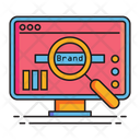 Brand Monitoring Search Brand Icon