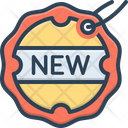 Brand New Design Sticker Icon