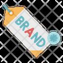 Brand tag Icon