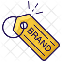 Brand Tag Sale Discount Icon