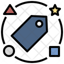 Brand Price Tag Icon