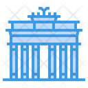 Brandenburg Gate Travel Icon