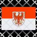 Brandenburg Flag Icon