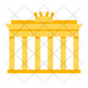 Berlin Brandenburg Entrance Icon