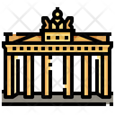 Brandenburg Gate Berlin Landmark Icon