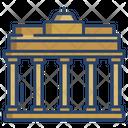 Brandenburg Gate Icon