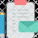 Branding Identity Stationery Icon