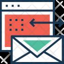 Branding Web Letter Icon