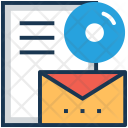 Branding Email Marketing Icon