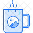 Branding Cup Design Icon