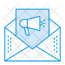 Email Open Advertisement Icon