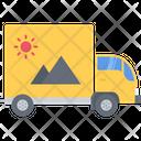Car Truck Design Icon