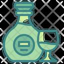 Brandy Alcohol Glass Icon