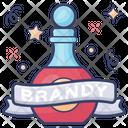 Brandy Wine Alcoholic Beverage Icon