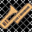 Brass Cornet Marching Band Icon