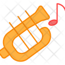 Trumpet Music Horn Music Equipment Icon