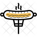 Bratwurst Hot Dog Meat Icon
