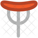 Bratwurst On Fork Icon