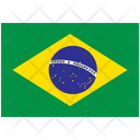 Flag Country Brazil Icon