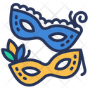 Brazil Carnival Masks Icon