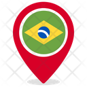 Brazil Country National Icon