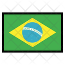 Brazil Nation Country Icon