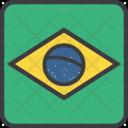 Brazil Brasil Country Icon