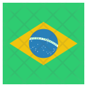 Brazil National Country Icon