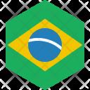 Brazil Flag World Icon