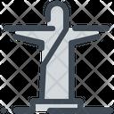 Brazil Christ Landmark Icon