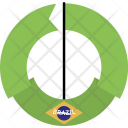Brazil Country Flag Icon