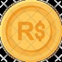 Brazilian Real Coin Brazilian Real Real Icon