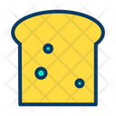 Loaf Food Brown Bread Icon