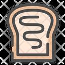 Toast Bread Breakfast Icon