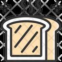 M Toast Toast Breakfast Icon