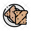Bakery Bread Breakfast Icon