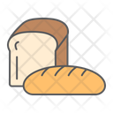 Bread Bakery Breakfast Product Loaf Supermarket Department Icon