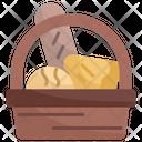 Bread Food Basket Icon