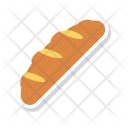 Bread Long Bakery Icon
