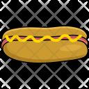 Bread Hotdog Sausage Icon