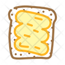 Bread Piece Peanut Icon