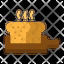 Bread Toast Shop Icon