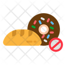 Bread Carb Low Icon