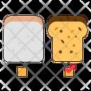 Bread Toast Breakfast Icon