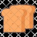 Bread Toast Bakery Icon