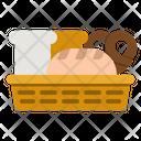 Bread Baguette Foods Icon