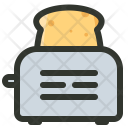 Bread Toaster Appliance Icon